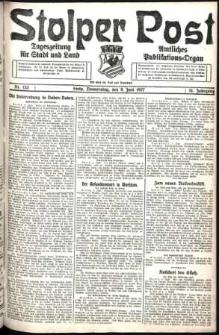 Stolper Post. Tageszeitung für Stadt und Land Nr. 132/1927