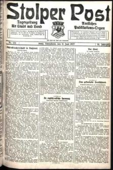 Stolper Post. Tageszeitung für Stadt und Land Nr. 134/1927