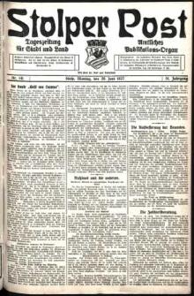 Stolper Post. Tageszeitung für Stadt und Land Nr. 141/1927