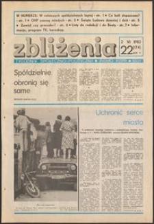 Zbliżenia : tygodnik społeczno-polityczny, 1983, nr 22