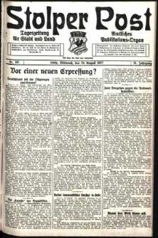Stolper Post. Tageszeitung für Stadt und Land Nr. 197/1927