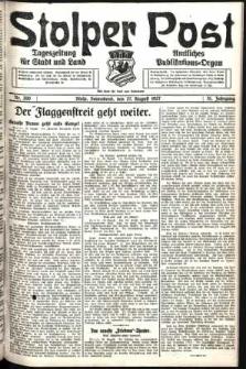 Stolper Post. Tageszeitung für Stadt und Land Nr. 200/1927