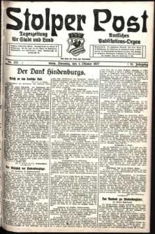 Stolper Post. Tageszeitung für Stadt und Land Nr. 232/1927