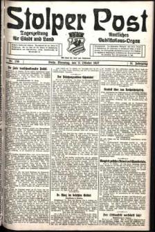 Stolper Post. Tageszeitung für Stadt und Land Nr. 238/1927