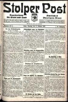 Stolper Post. Tageszeitung für Stadt und Land Nr. 243/1927