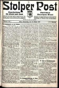 Stolper Post. Tageszeitung für Stadt und Land Nr. 246/1927