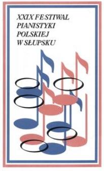 Festiwal Pianistyki Polskiej (29 ; 1995 ; Słupsk)