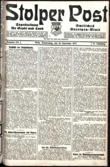 Stolper Post. Tageszeitung für Stadt und Land Nr. 264/1927