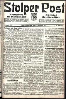 Stolper Post. Tageszeitung für Stadt und Land Nr. 269/1927