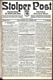 Stolper Post. Tageszeitung für Stadt und Land Nr. 283/1927