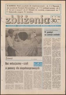 Zbliżenia : tygodnik społeczno-polityczny, 1983, nr 30