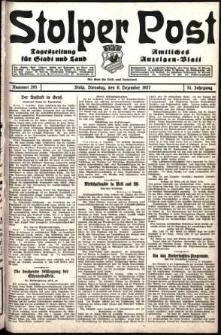 Stolper Post. Tageszeitung für Stadt und Land Nr. 285/1927