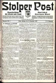 Stolper Post. Tageszeitung für Stadt und Land Nr. 294/1927