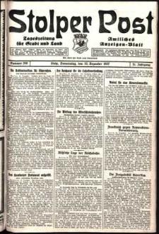 Stolper Post. Tageszeitung für Stadt und Land Nr. 299/1927