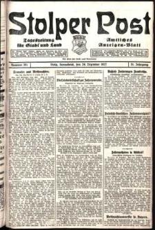 Stolper Post. Tageszeitung für Stadt und Land Nr. 301/1927