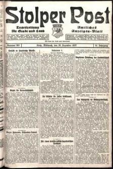 Stolper Post. Tageszeitung für Stadt und Land Nr. 303/1927