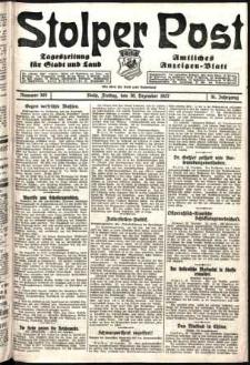 Stolper Post. Tageszeitung für Stadt und Land Nr. 305/1927