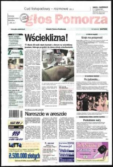 Głos Pomorza, 2002, listopad, nr 262
