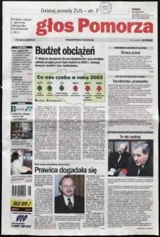 Głos Pomorza, 2002, listopad, nr 275