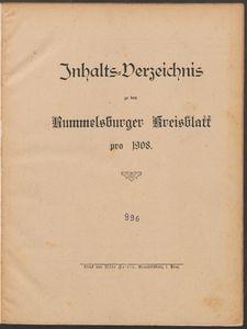 Rummelsburger Kreisblatt 1908