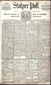 Stolper Post Nr. 4/1883