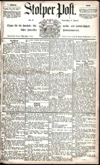 Stolper Post Nr. 9/1883