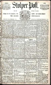 Stolper Post Nr. 10/1883