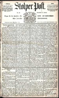 Stolper Post Nr. 11/1883