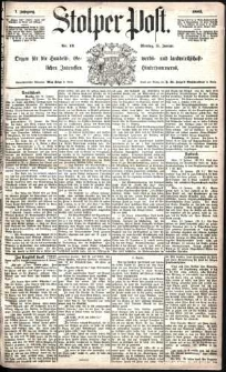 Stolper Post Nr. 12/1883
