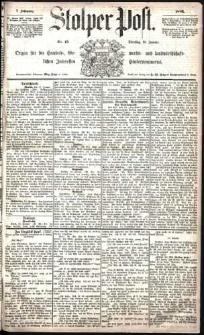 Stolper Post Nr. 13/1883