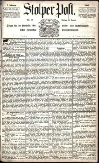 Stolper Post Nr. 16/1883