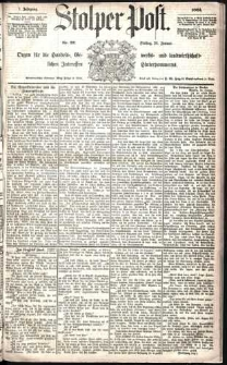 Stolper Post Nr. 22/1883