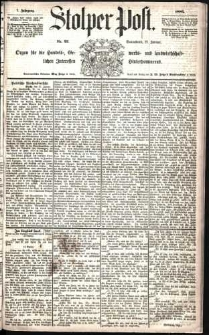 Stolper Post Nr. 23/1883
