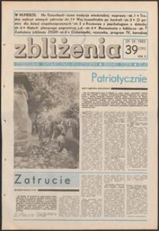 Zbliżenia : tygodnik społeczno-polityczny, 1983, nr 39