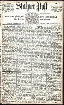 Stolper Post Nr. 27/1883