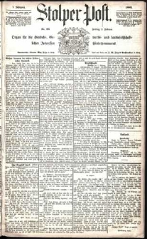 Stolper Post Nr. 28/1883