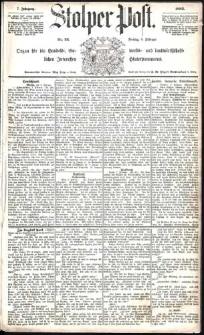 Stolper Post Nr. 34/1883