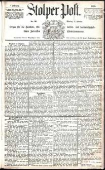 Stolper Post Nr. 36/1883