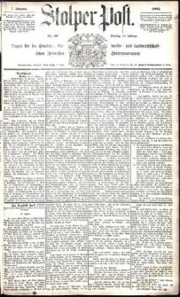 Stolper Post Nr. 42/1883