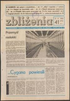 Zbliżenia : tygodnik społeczno-polityczny, 1983, nr 41