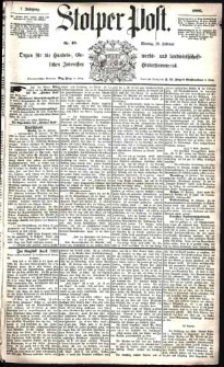 Stolper Post Nr. 48/1883