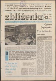 Zbliżenia : tygodnik społeczno-polityczny, 1983, nr 42