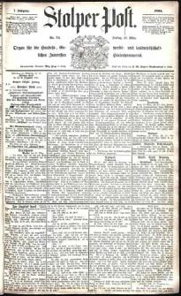 Stolper Post Nr. 74/1883