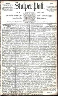 Stolper Post Nr. 77/1883