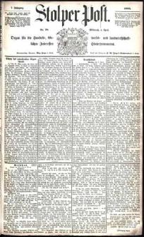 Stolper Post Nr. 78/1883