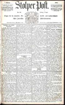 Stolper Post Nr. 80/1883