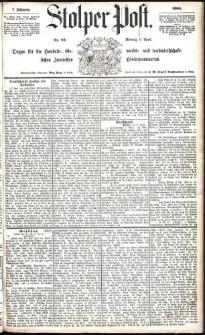Stolper Post Nr. 82/1883
