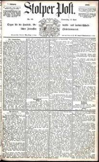 Stolper Post Nr. 85/1883