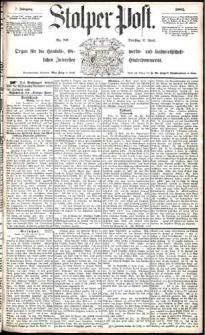 Stolper Post Nr. 89/1883