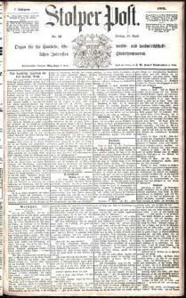 Stolper Post Nr. 91/1883